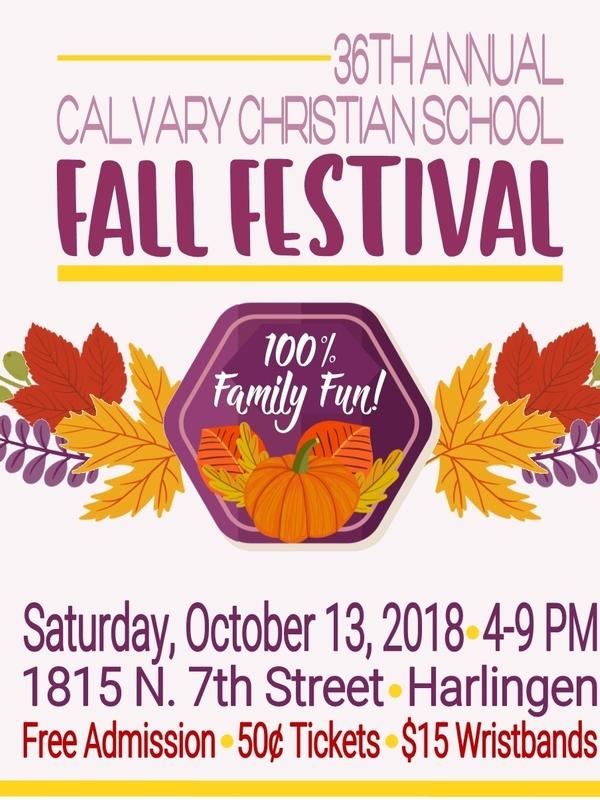 Fall Festival 4-9 p.m.